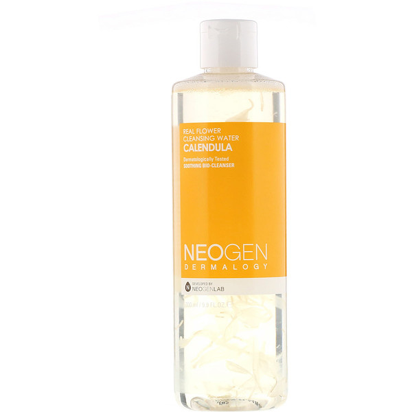Neogen, Real Flower Cleansing Water, Calendula, 9.9 fl oz (300 ml)