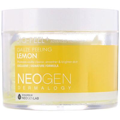 Купить Neogen Био-Пилинг, Марлевый Пилинг, Лимон, 30 Комплектов