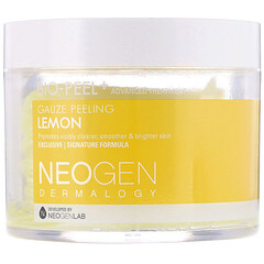Neogen, Bio-Peel+ 去角質清潔棉,檸檬味,30 片裝
