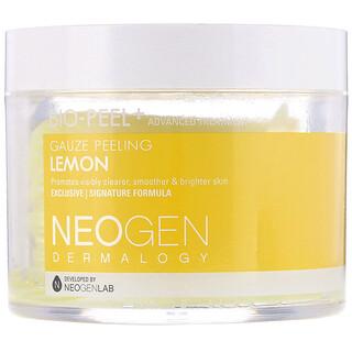 Neogen, Bio-Peel+, Gauze Peeling, Lemon, 30 Count