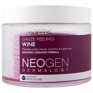 Neogen, Био-Пилинг, Марлевый Пилинг, Вино, 30 Комплектов, 6,76 жидких унций (200 мл)