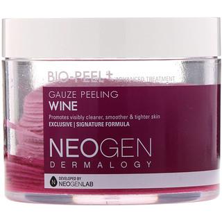 Neogen, Bio-Peel, Gauze Peeling, Wine, 30 Count, 6.76 fl oz (200 ml)