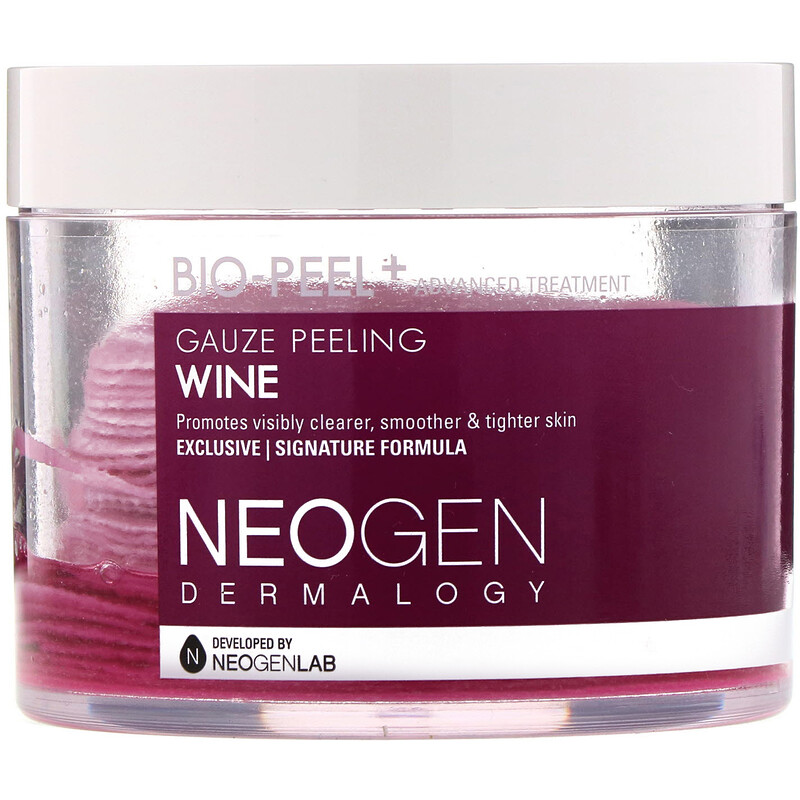 Bio-Peel, Gauze Peeling, Wine, 30 Count, 6.76 fl oz (200 ml)