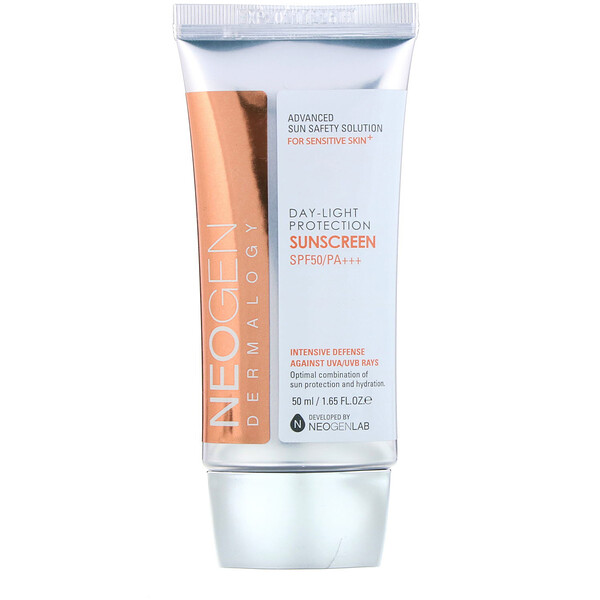 Day-Light Protection Sunscreen, SPF 50/PA+++, 1.65 oz (50 ml)