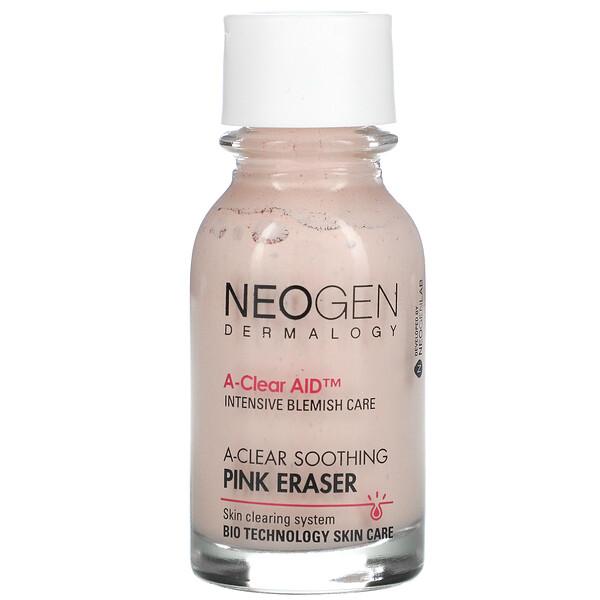 A-Clear Soothing Pink Eraser, 0.50 fl oz (15 ml)