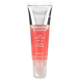 Neutrogena, MoistureShine Lip Soother, SPF 20, Shine 30, 0.35 oz (10 g)