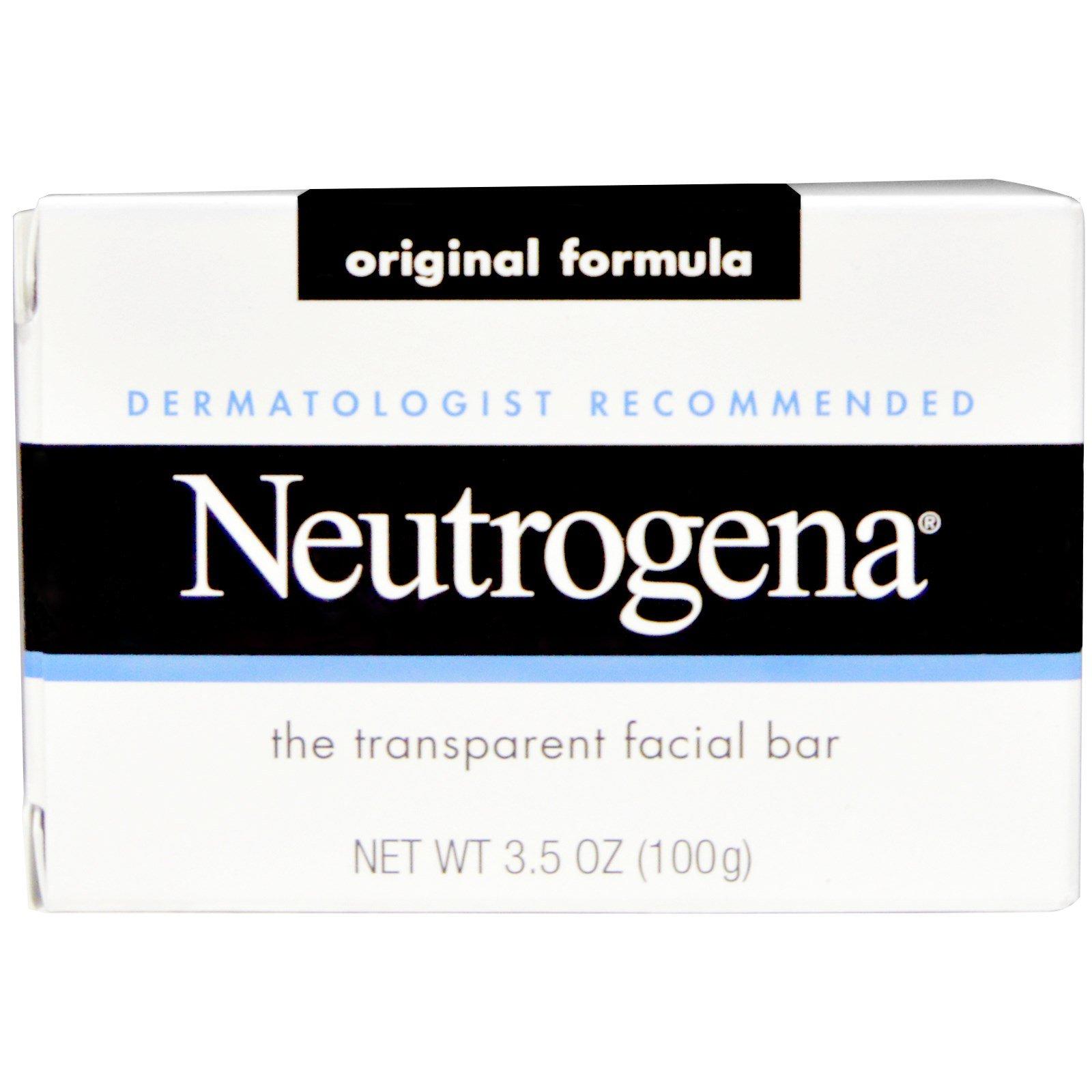Neutrogena facial bar ingredients