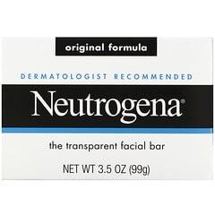 Neutrogena, 面部護理皂,3.5盎司(100克)