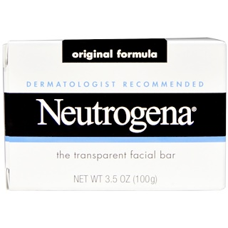 Neutrogena, Facial Cleansing Bar, 3.5 oz (100 g)