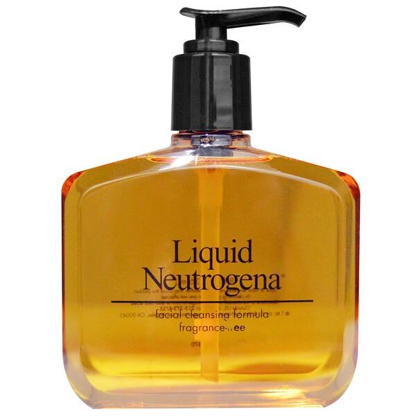 Liquid Neutrogena, Facial Cleansing Formula, 8 fl oz (236 ml)
