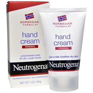 Neutrogena, Hand Cream, Original, 2 oz (56 g)