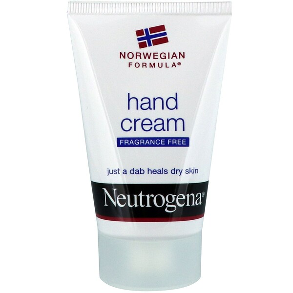 Neutrogena, Hand Cream, Fragrance Free, 2 oz (56 g)