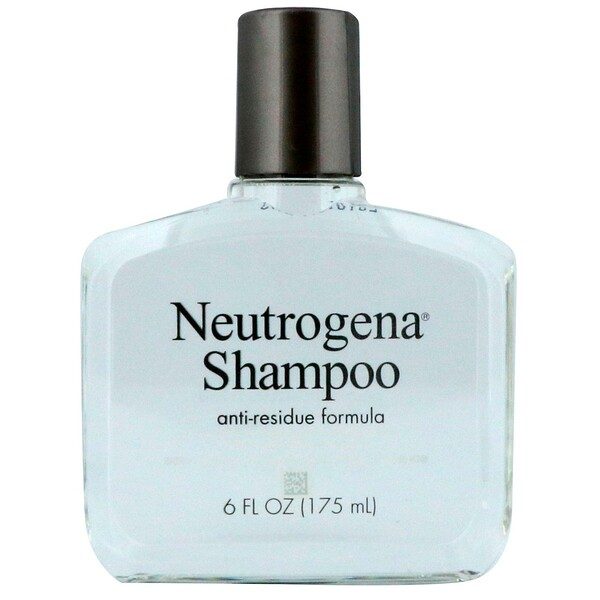 Neutrogena, The Anti-Residue Shampoo, All Hair Types, 6 fl oz (175 ml)