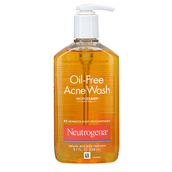 Neutrogena, Oil-Free Acne Wash, 9.1 fl oz (269 ml)