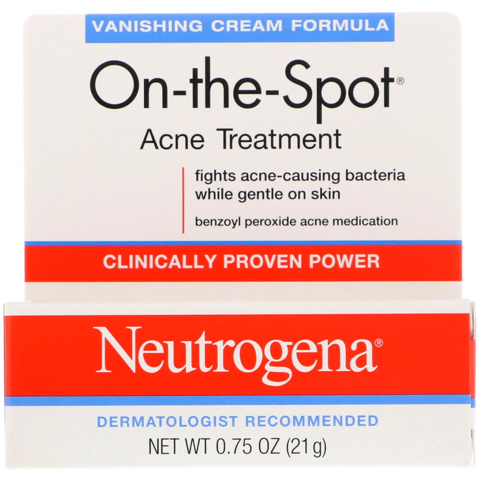 Neutrogena, On-the-Sport, Acne Treatment, 0 75 oz (21 g)