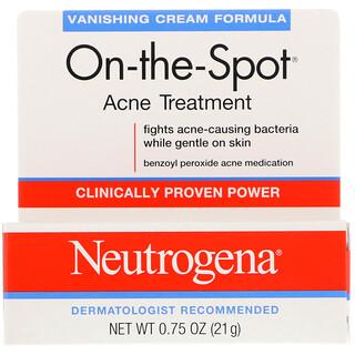 Neutrogena, On-the-Sport, Acne Treatment, 0.75 oz (21 g)