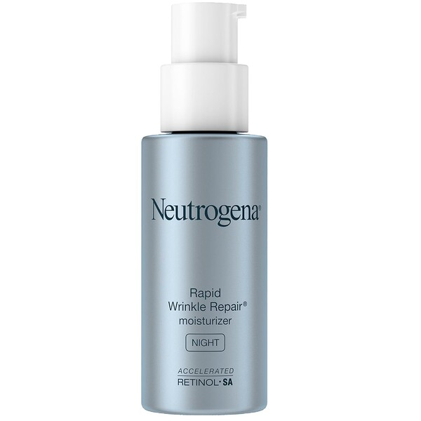 Neutrogena, Rapid Wrinkle Repair, Moisturizer, Night, 1 fl oz (29 ml)