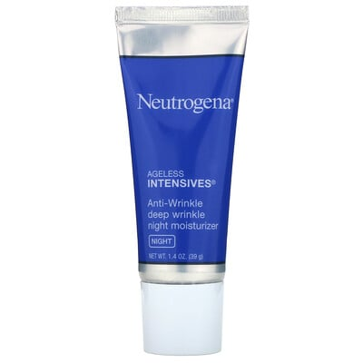 Купить Neutrogena Ночной увлажняющий крем от глубоких морщин, Ночь, 1, 4 унции (39 г)