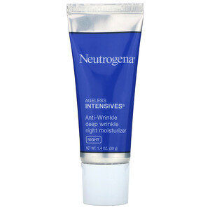 НьютроДжина, Anti-Wrinkle Deep Wrinkle Night Moisturizer, Night, 1.4 oz (39 g) отзывы покупателей