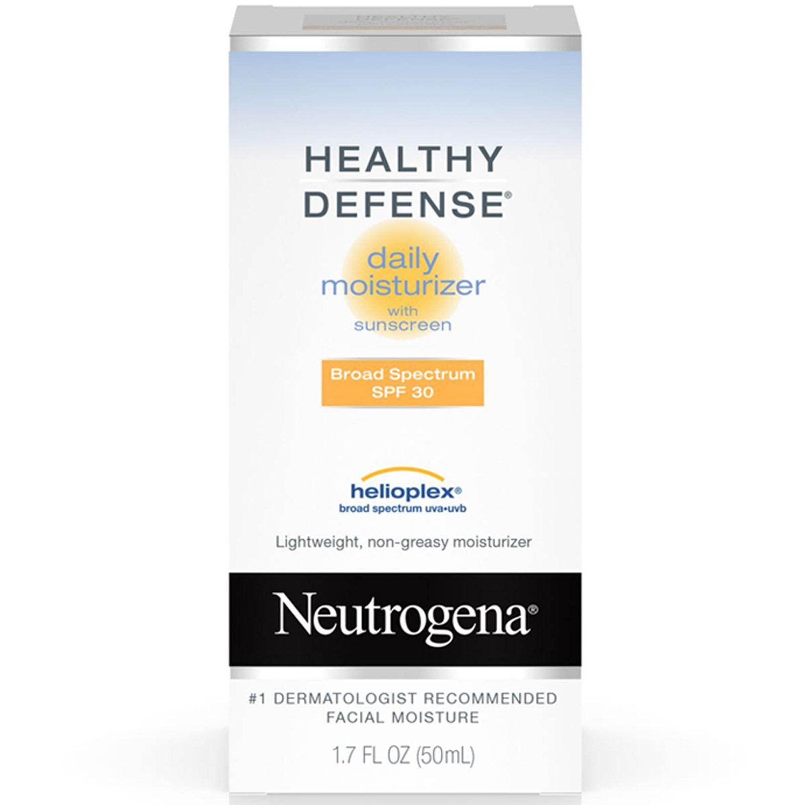 Neutrogena, Здоровая защита, Дневной увлажняющий крем, SPF 30, 1,7 унции (50 ил)