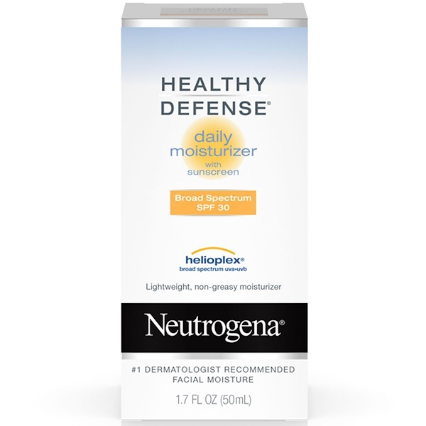 Neutrogena, Healthy Defense, Daily Moisturizer, SPF 30, 1.7 fl oz (50 ml) (Discontinued Item)
