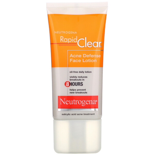 Neutrogena, Rapid Clear, Acne Defense Face Lotion, 1.7 fl oz (50 ml) (Discontinued Item)