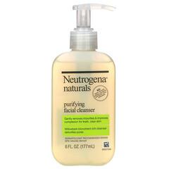 Neutrogena, 淨化潔面乳,6液盎司(177毫升)