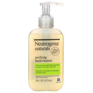Neutrogena, Limpiador Facial Purificador, 6 fl oz (177 ml)