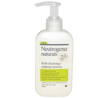 Neutrogena, Fresh Cleansing + Makeup Remover, 6 fl oz (177 ml)