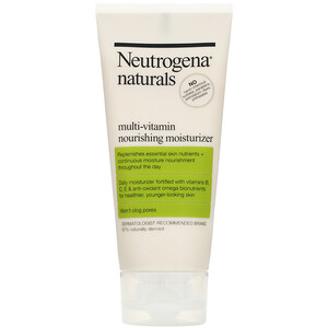 НьютроДжина, Neutrogena, Naturals, Multi-Vitamin Nourishing Moisturizer, 3 fl oz (88 ml) отзывы покупателей