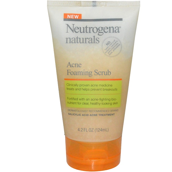 Neutrogena, Acne Foaming Scrub, 4.2 fl oz (124 ml)
