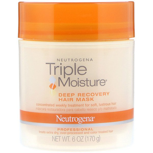 Neutrogena, Triple Moisture, Deep Recovery Hair Mask, 6 oz (170 g)