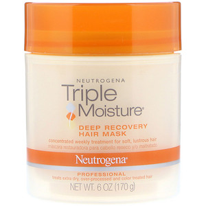НьютроДжина, Triple Moisture, Deep Recovery Hair Mask, 6 oz (170 g) отзывы