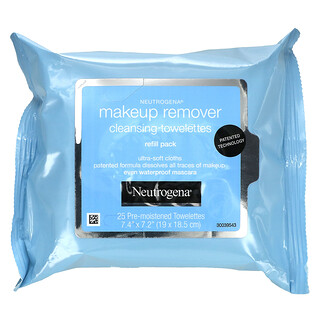 Neutrogena, Makeup Remover Cleansing Towelettes, 25 Pre-Moistened Towelettes