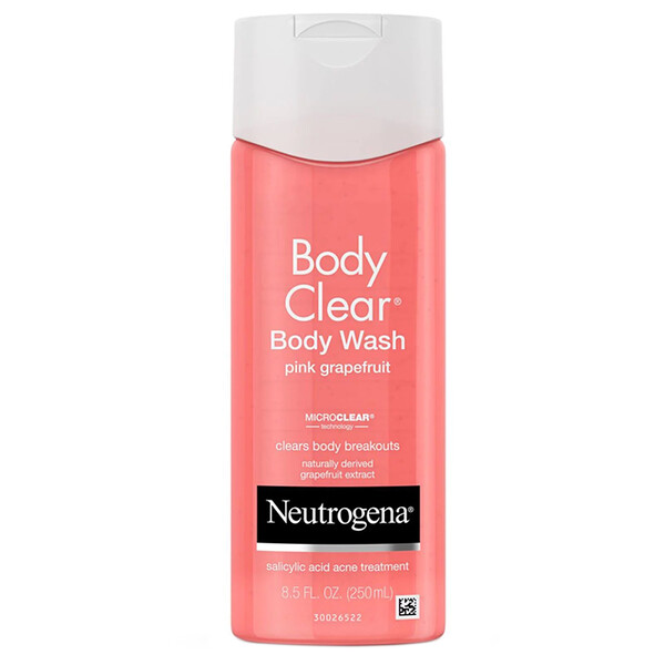 Neutrogena, Body Clear, gel de baño corporal, Toronja rosada, 8.5 fl oz (250 ml)