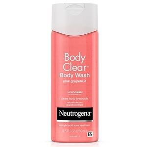 Neutrogena, Body Clear, Гель для душа, Розовый грейпфрут, 8,5 унции (250 мл)