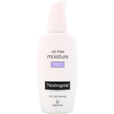 Купить Neutrogena Безмасляный ультрамягкий увлажняющий крем для лица, для чувствительной кожи, 4 ж. унц. (118 мл)