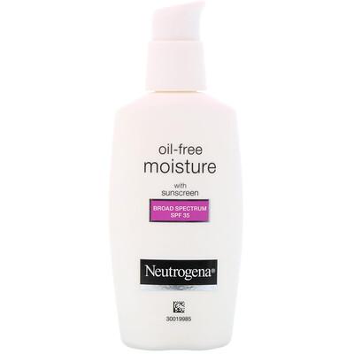 Купить Neutrogena Увлажняющий крем для лица с защитой от УФА/УФВ, без масла, фактор защиты от солнца (SPF) 35, 2, 5 ж. унц. (73 мл)