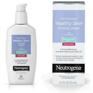 НьютроДжина, Healthy Skin, Firming Cream with Sunscreen, SPF 15, 2.5 fl oz (73 ml) отзывы