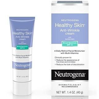 Neutrogena, Healthy Skin, крем против морщин, ночной, 1,4 унц. (40 г)