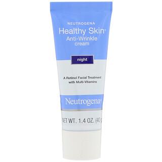 Neutrogena, Healthy Skin, Anti-Wrinkle Cream, Night, 1.4 oz (40 g)