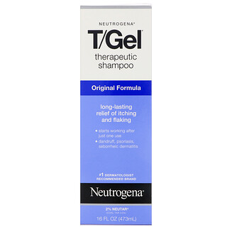 Neutrogena, T/Gel, Therapeutic Shampoo, Original Formula, 16 fl oz (473 ml)