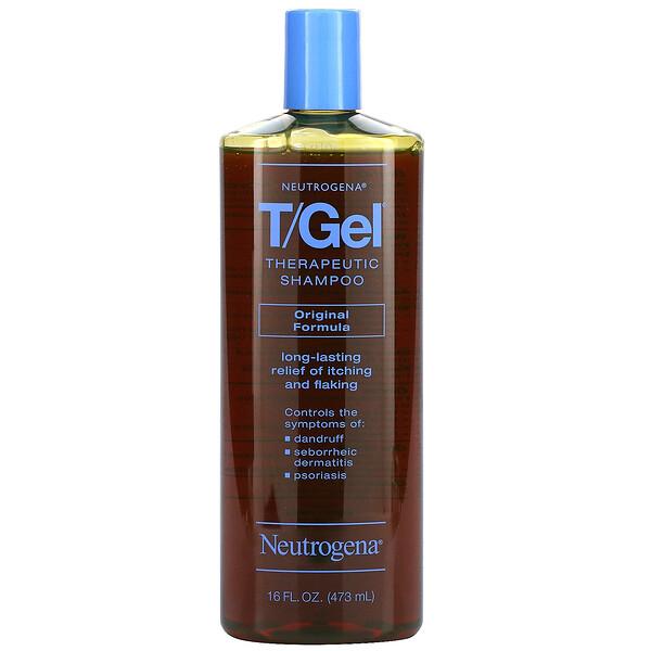 T/Gel, Therapeutic Shampoo, Original Formula, 16 fl oz (473 ml)