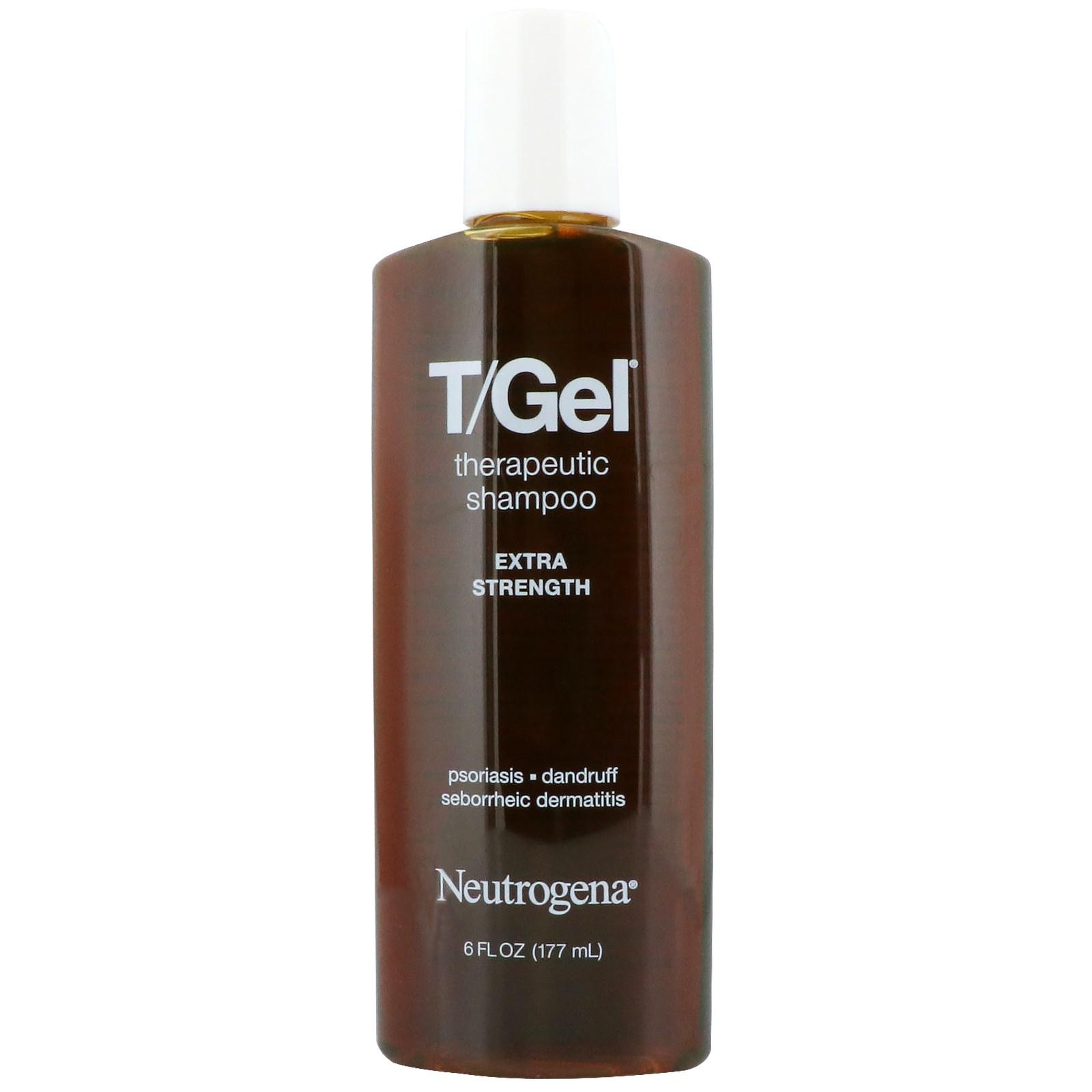 Neutrogena, T/Gel, Therapeutic Shampoo, Extra Strength, 6 fl oz (177 ml)