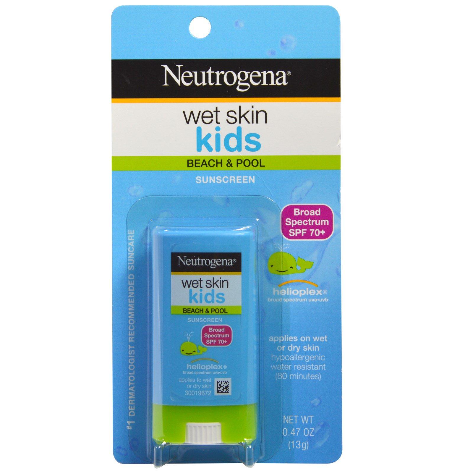Sunscreen Acnes Uv Tint Spf 35 Neutrogena Wet Skin Kids Beach Pool Stick 70