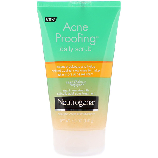 Neutrogena, Acne Proofing Daily Scrub, 4.2 oz (119 g) (Discontinued Item)
