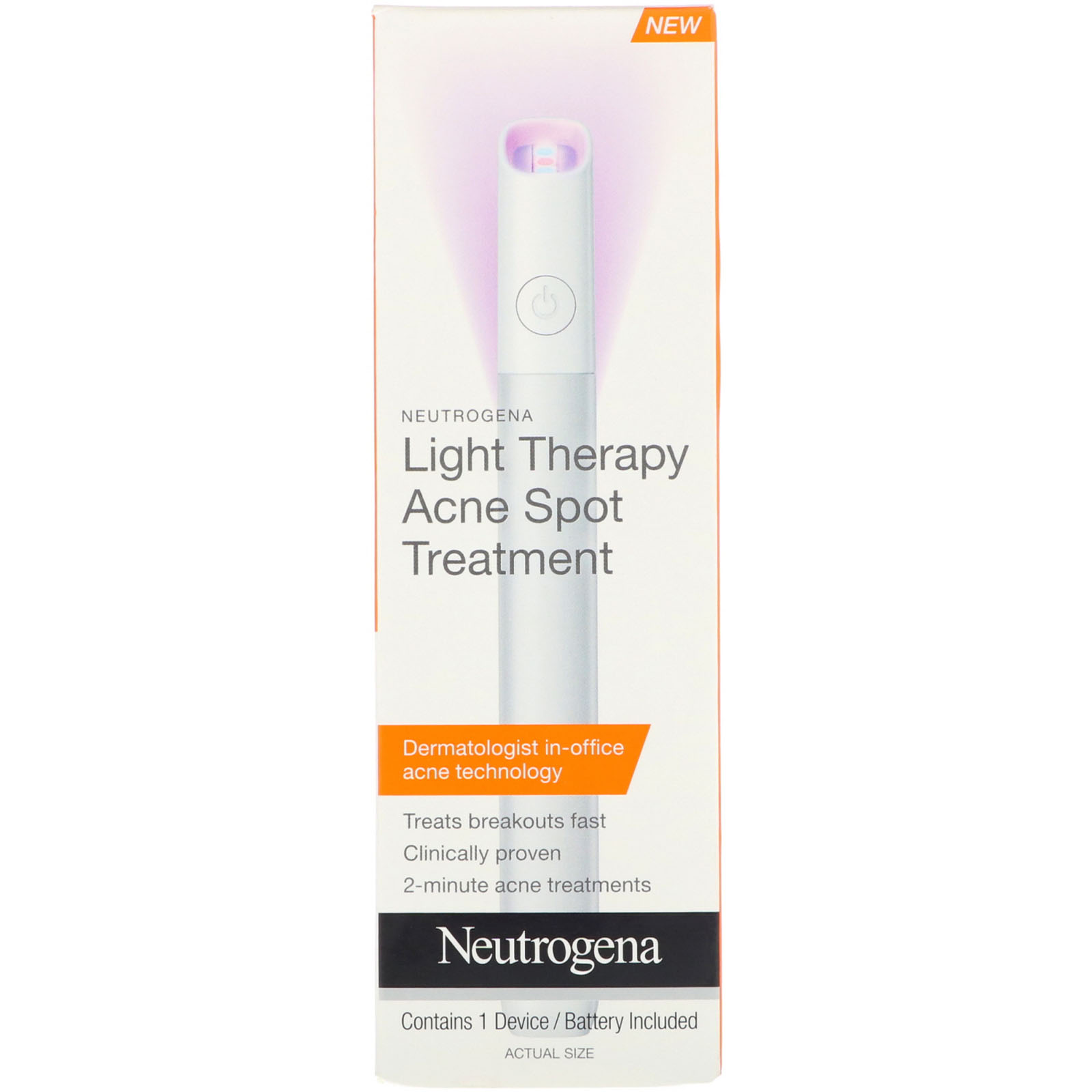 Neutrogena Light Therapy Acne Spot Treatment 1 Device Iherb