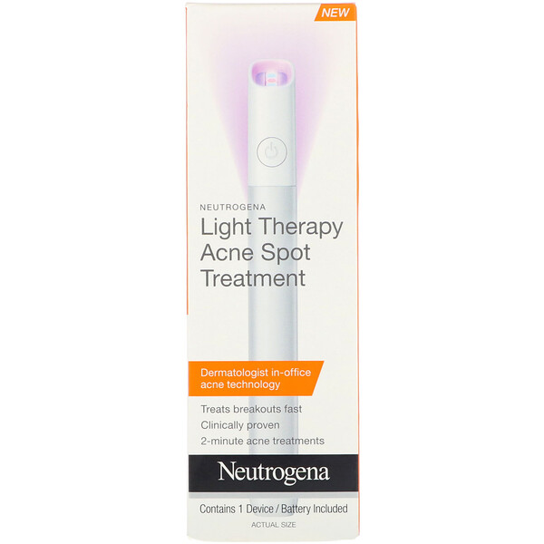 Neutrogena, Light Therapy Acne Spot Treatment, 1 Device