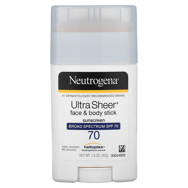 Neutrogena, 轻透抗晒棒,抗晒,SPF 70,1.5 oz (42 g)