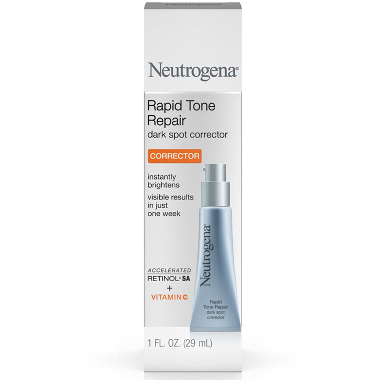 Neutrogena, Быстрое восстановление тонуса, корректор черных точек, 1 жидкая унция (29 мл)